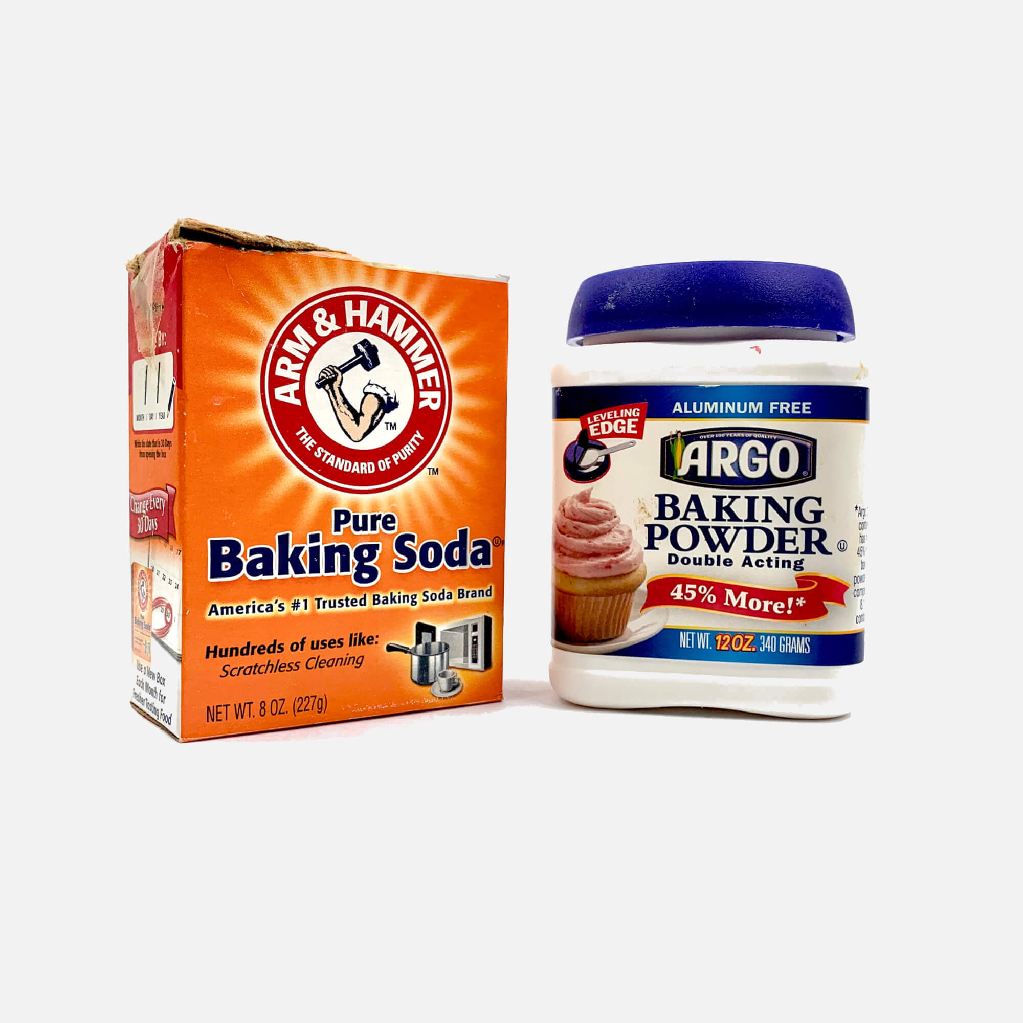 Baking Powder & Baking Soda Experiment