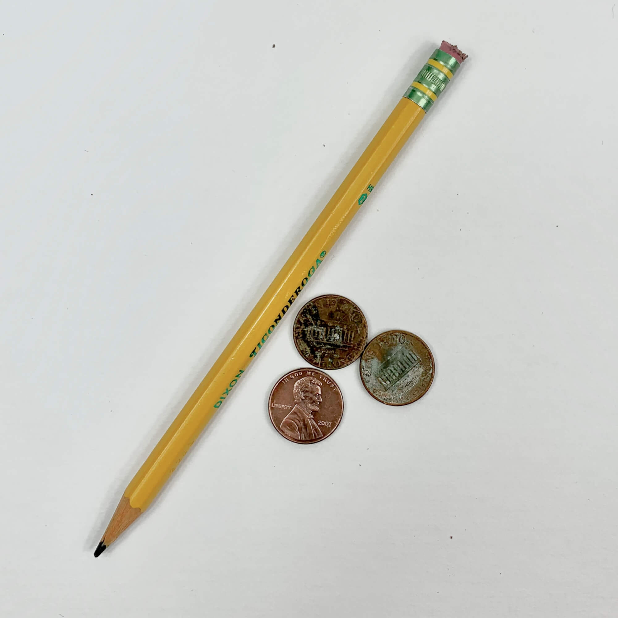 Polish Pennies with a Pencil