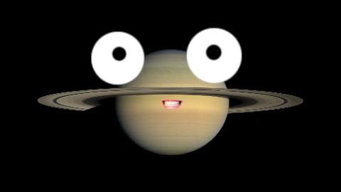 Did you hear that Saturn got engaged? Just look at the size of that ring!