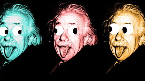 How do you know who's in Einstein's family? His theory of relative-ity!