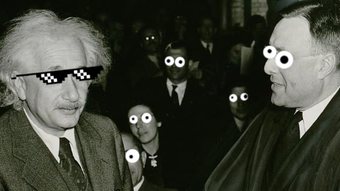 What did Einstein say when he won the Nobel Prize in 1921? It's about time!