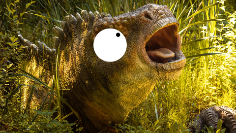 Why can't dinosaurs talk? Because they're extinct, duh!