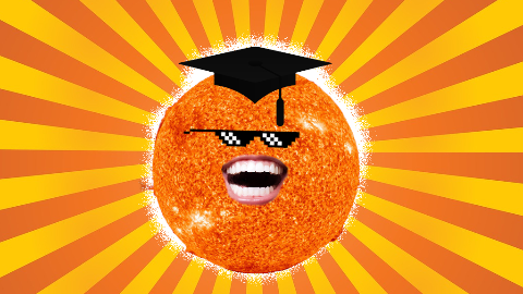 Why is the sun so smart? It has thousands of degrees!
